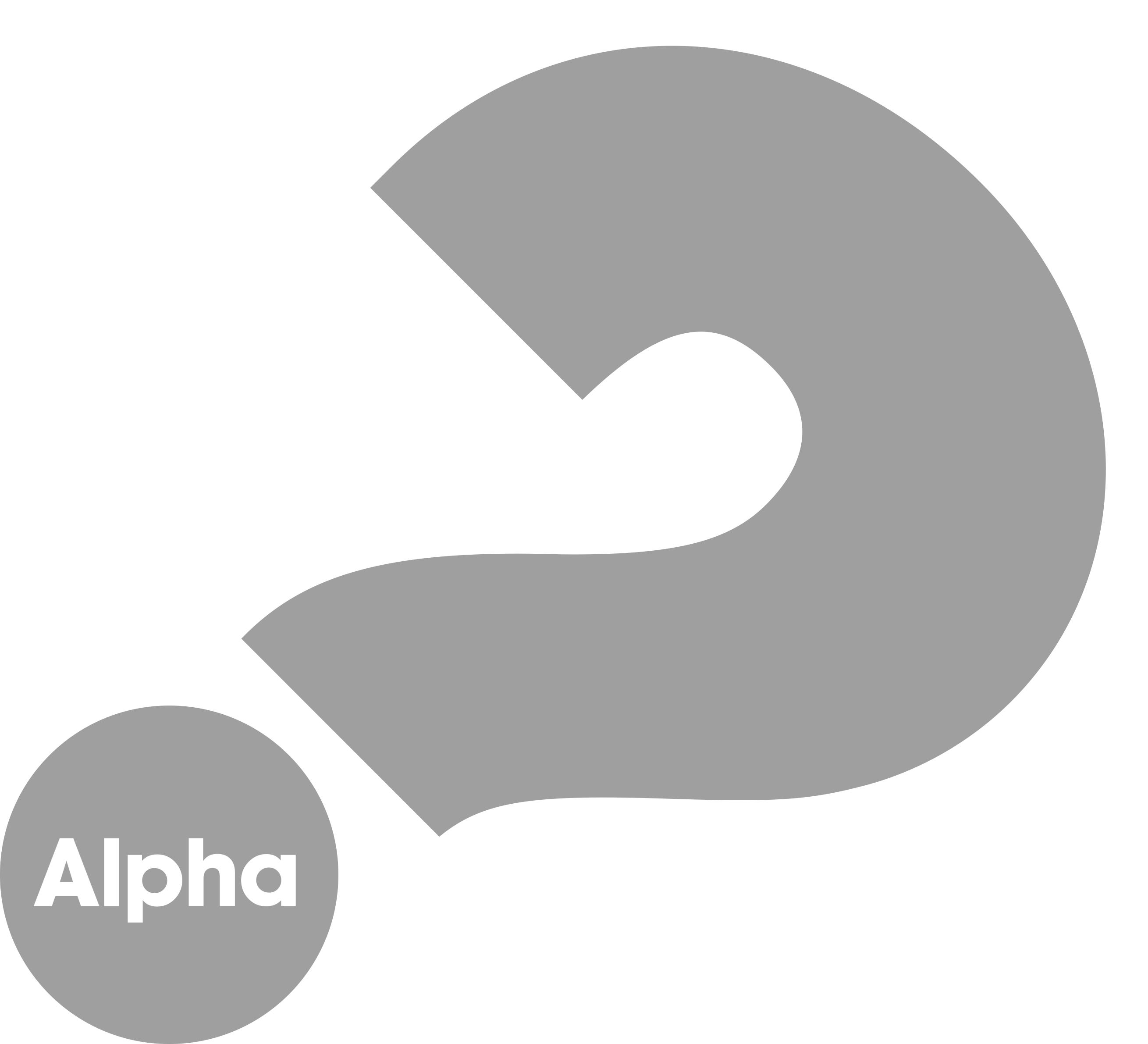 Alpha mark gray 1