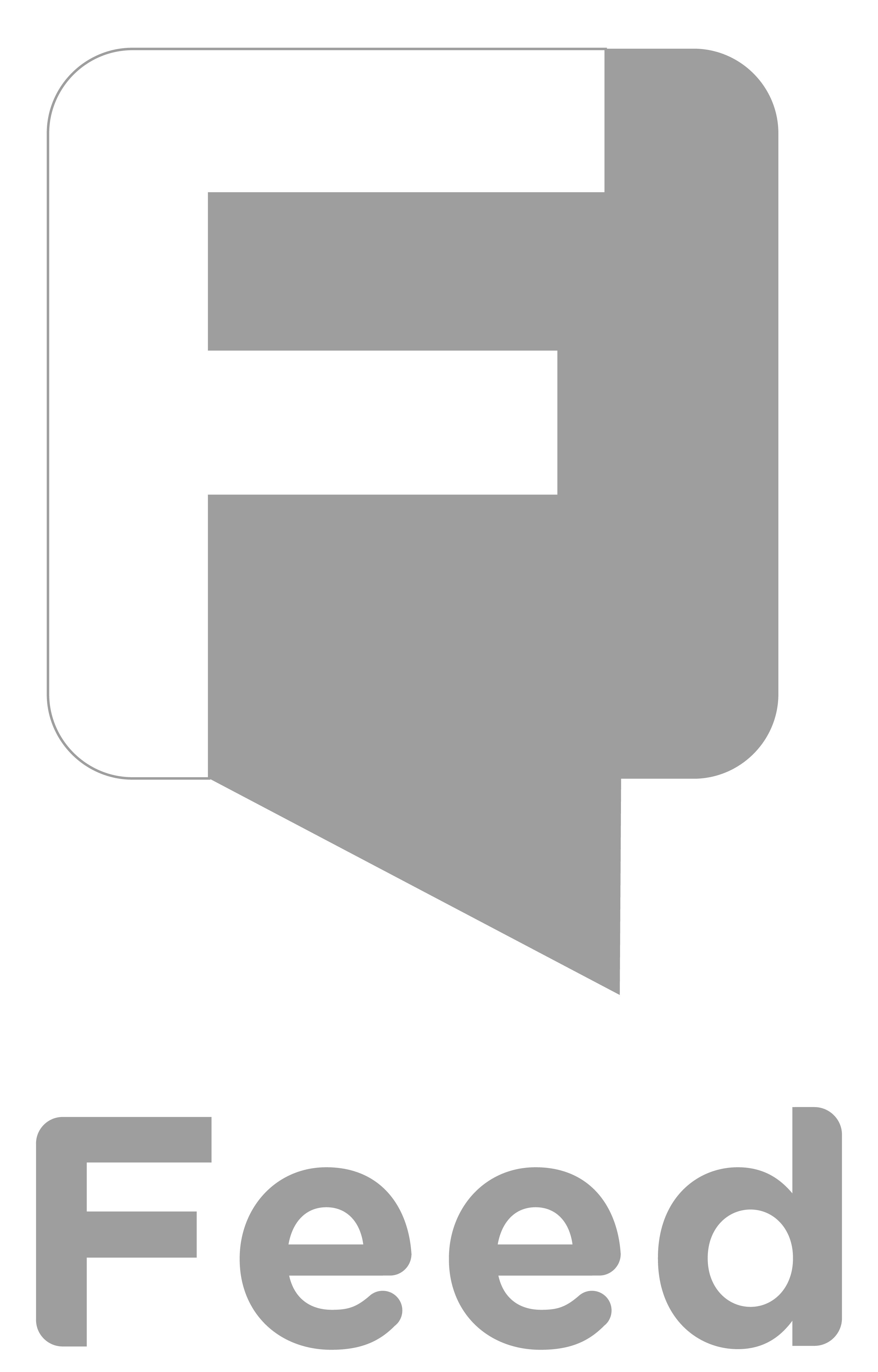 Feed logo gray