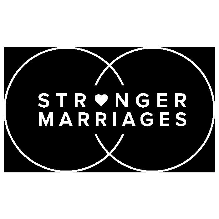 Stronger marriages logo bw 700px 72dpi white